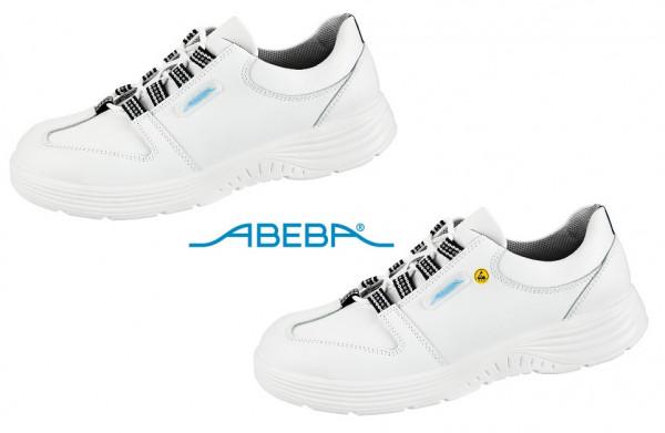 ABEBA X-Light 711033 7131033 ESD Sicherheitsschuh S2 Halbschuh Küchenschuh Arbeitsschuh weiß