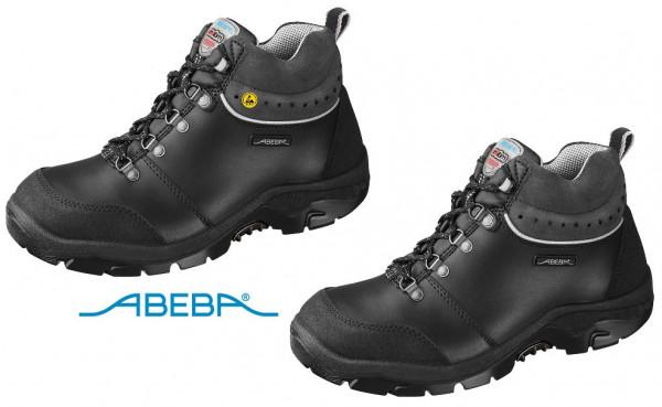 ABEBA Sicherheitsschuh Anatom 2168|32168 ESD S2 Knöchelschuh Stiefel Arbeitsschuh schwarz