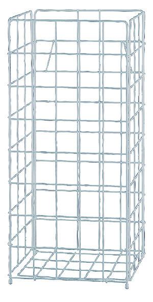 Tork Abfallbehälter Drahtgitter 60 Liter, weiß, 33 x 72 x 25 cm - 229750