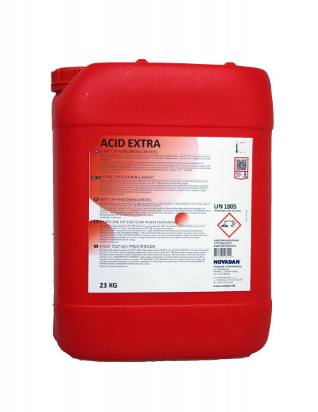 Novadan - Acid extra sauer CIP Reinigungsmittel Melkroboter