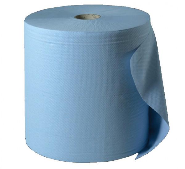 Putzpapierrolle Exclusiva blau 3-lg. 500 PPP 22 x 36cm