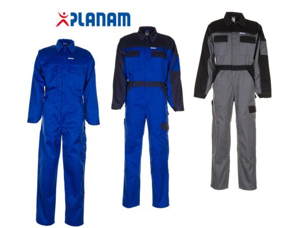 Planam Tristep Rallyekombi Overall Arbeitsanzug Größe 24 - 114, in 3 Farben