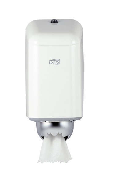 Tork (M1) Mini Innenabrollungsspender für Papierwischtücher Handtuchrolle Metall - 200040
