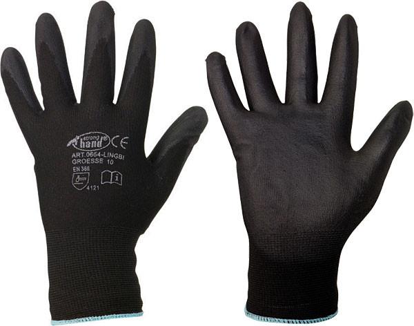 Stronghand® Handschuh Nylon-Latex FINEGRIP Gr. 7 - 11