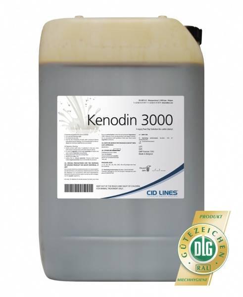 Cid Lines - Kenodin 3000, 200 Liter Fass Zitzentauchmittel für Rinder, Schafe & Ziegen