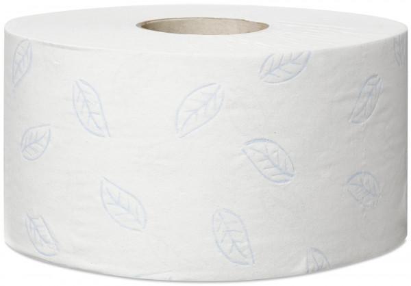 Tork (T2) Mini Jumbo Toilettenpapier 12 Rollen 2-lg weiß 170m - 110253