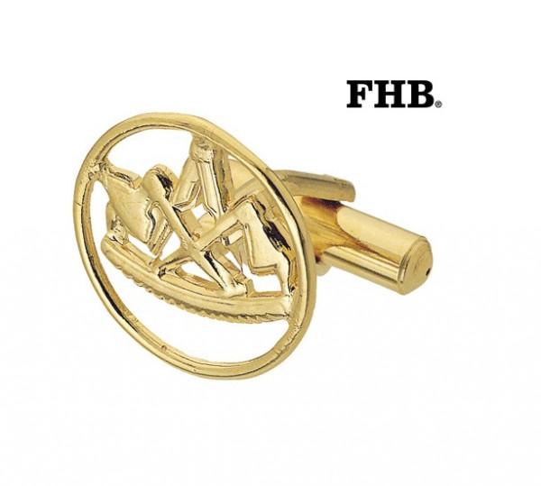FHB Leonhard 90110 Manschettenknöpfe Zimmermann Gold