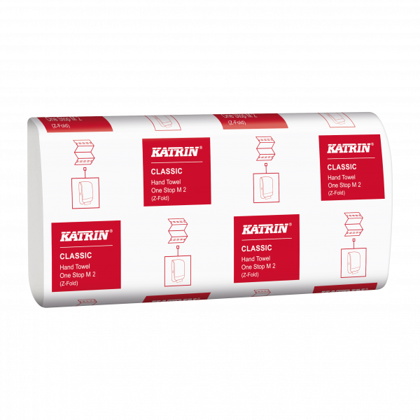 Katrin Classic Handtuchpapier One Stop, 2-lg - 345287