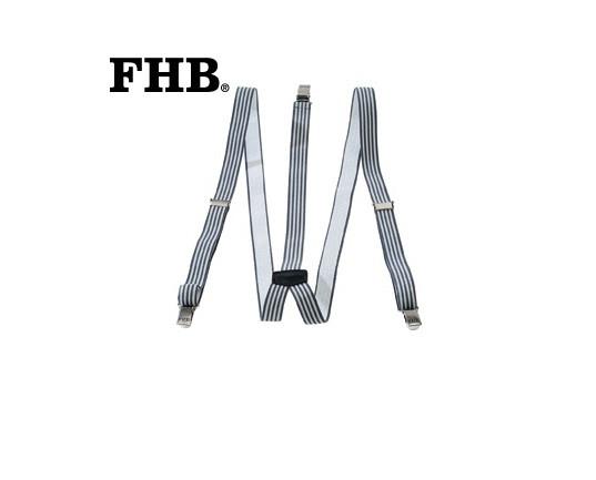 FHB Theodor Hosenträger Herkulesträger 902933 120 cm Grau-Anthrazit
