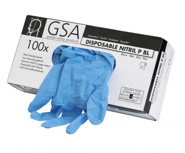 Disposable Nitril-Handschuh PF Größe S - XXL