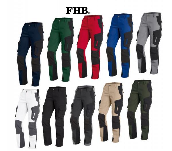 FHB Alma Damen-Arbeitshose Bundhose Größe 34 - 46, in 10 Farben