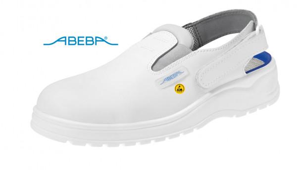 ABEBA Light 1130|31130 ESD Berufsschuh Clog Küchenschuh Arbeitsschuh weiß