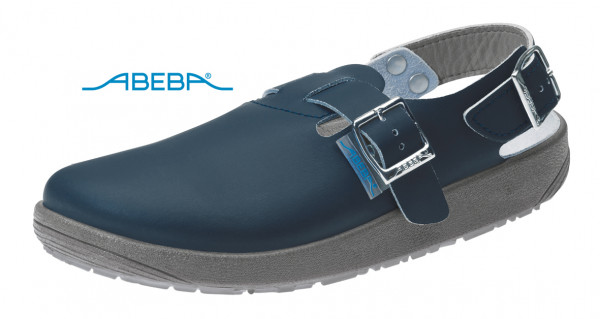 ABEBA Rubber 9150 Clog Berufsschuh Arbeitsschuh marine