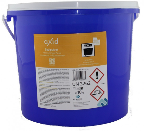 Axid - Spülpulver 10 Kg (ehemals Clearfixxx)