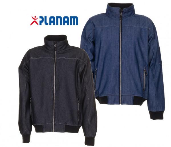Planam Jeans Softshelljacke Arbeitsjacke Gr. XS - 3XL, in 2 Farben