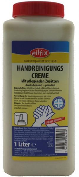 Eilfix - Handreinigungscreme flüssig 1 Liter Flasche
