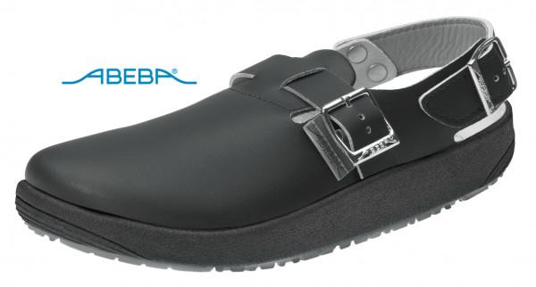 ABEBA Rubber 9110 Clog Berufsschuh Arbeitsschuh schwarz