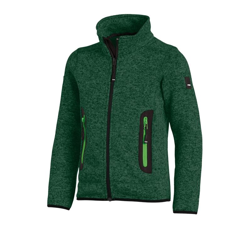 FHB Mats Kinder Strick Fleece Jacke Größe 86 164, in 5 Farben