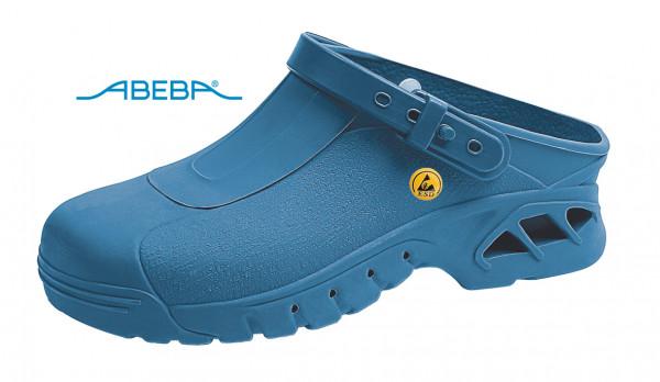 ABEBA Autoklavierbare Clog 9610|39610 ESD Clogs Berufsschuh Arbeitsschuh blau