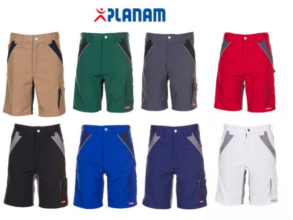 Planam Plaline Shorts kurze Arbeitshose Größe XS - 4XL, in 8 Farben