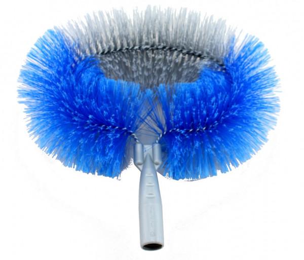 Meiko Ersatzkopf für Wand- & Deckenbesen oval 28 cm grau-blau - 939121