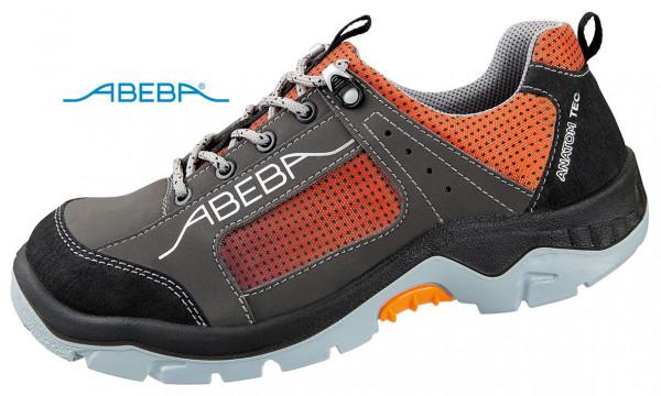 ABEBA Anatom 2257|32257 Sicherheitsschuh S3 ESD Halbschuh Arbeitsschuh orange