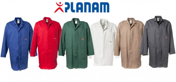 Planam BW290 Berufsmantel Größe 24 - 110, in 6 Farben