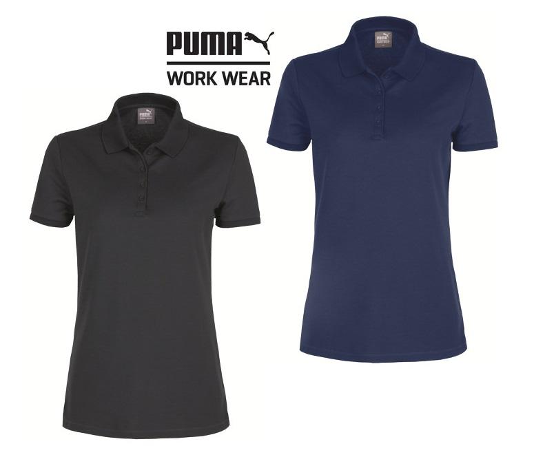 Puma Workwear Damen Polo Shirt Arbeitsshirt 30 0410D30 0420D Größe XS 3XL, in 2 Farben