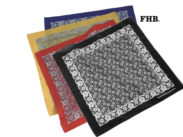 FHB Elias Taschentuch Bandanos 91200, in 4 Farben