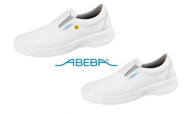 ABEBA X-Light 711132|7131132 ESD Berufsschuh Slipper Küchenschuh Arbeitsschuh weiß