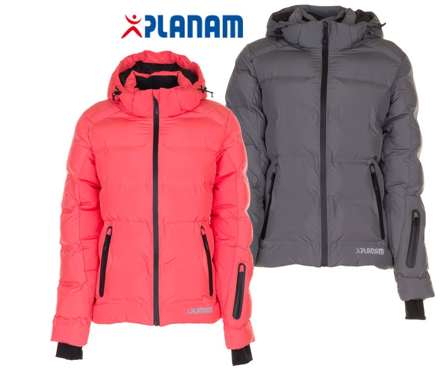 Planam Powder Damen Jacke Outdoor Arbeitsjacke Gr. XS 3XL, in 2 Farben