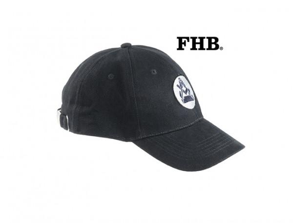 FHB Noah Tischler-Cap 91160 Basecap schwarz