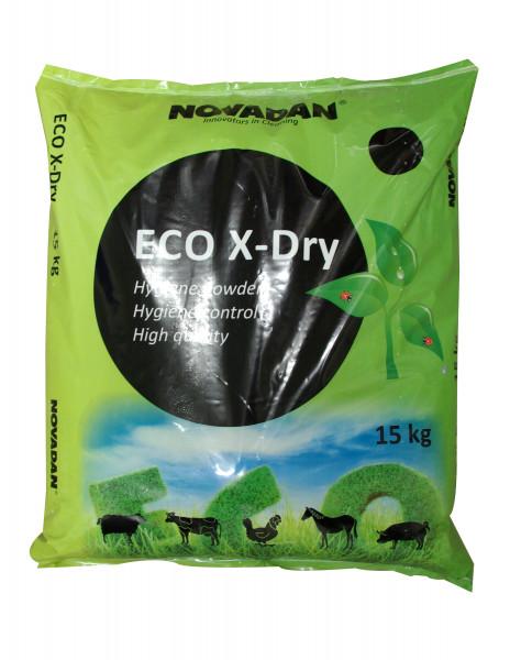 Novadan - Eco X-Dry 15 Kg Sack Stalleinstreu Trockenhygienemittel