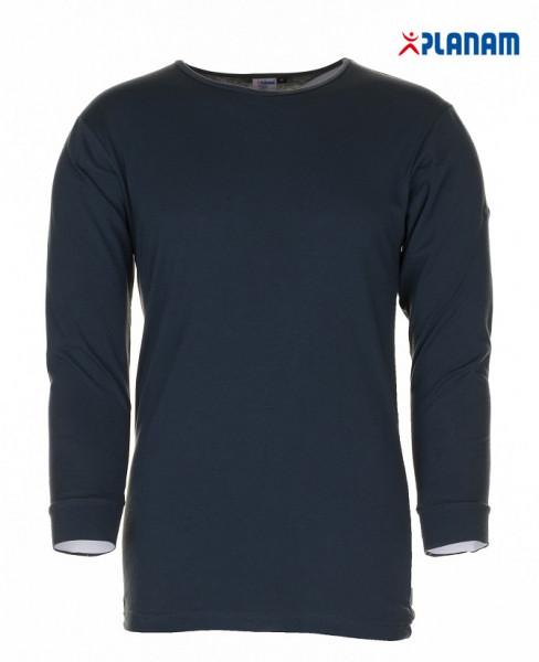 Planam Funktionswäsche Shirt langarm 190g/m² Unterwäsche Winter 2251 Größe S - 4XL Grau